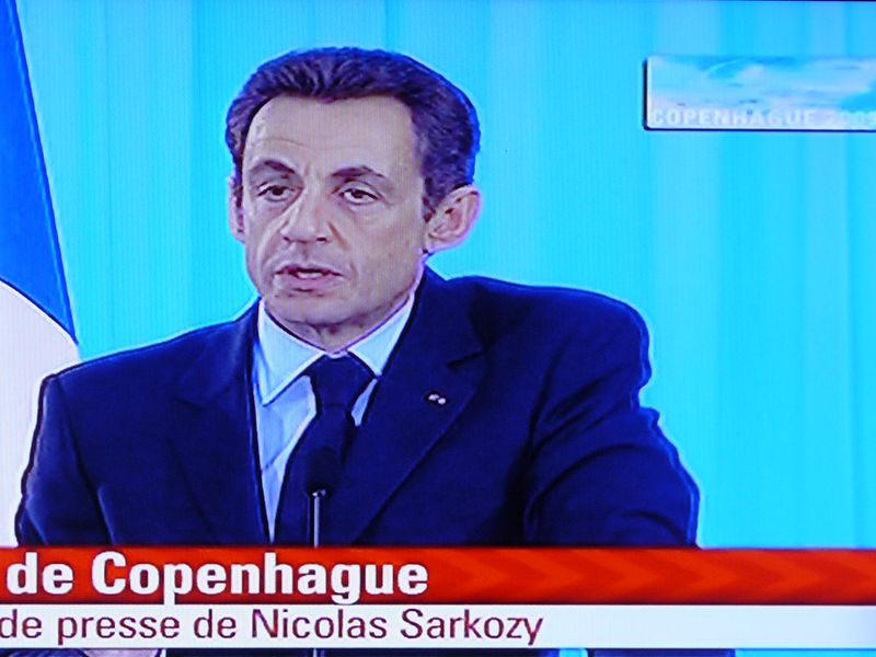 Copehague 1 Sarko