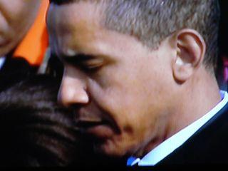 Obama concentré