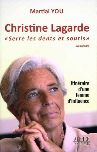 Christine Lagarde serre les dents et souris001