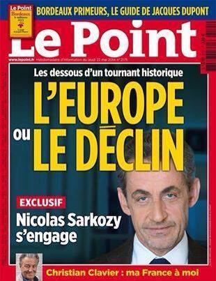 Sarko Le Point europe