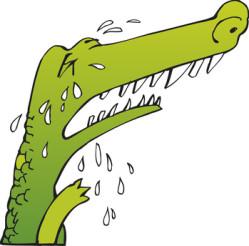 Larmes-crocodile