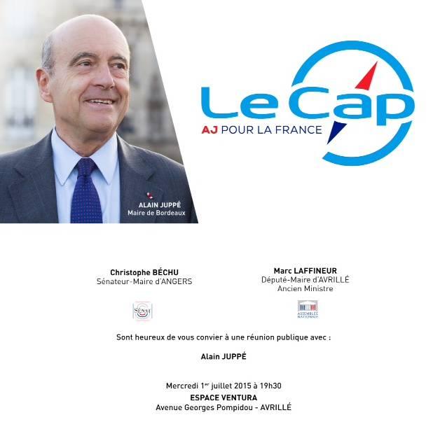 Alain Juppé à Angers