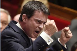 Valls en colère