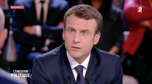 Macron emission pol