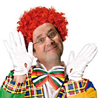 Hollande bouffon