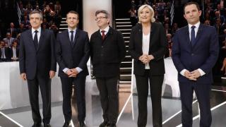 Débat TF1 1er tour