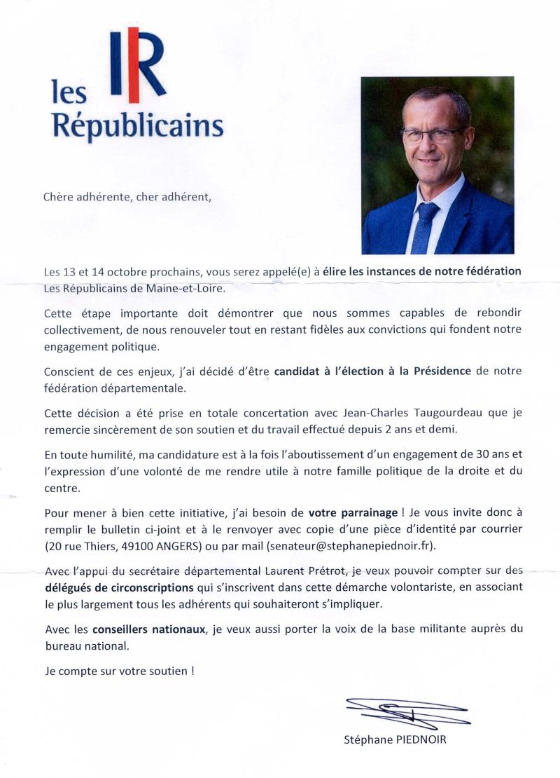 Candidature Stéphane001