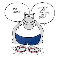 Chat string des pieds