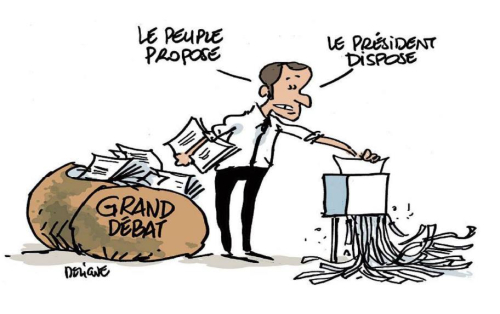 Conf de  presse Macron