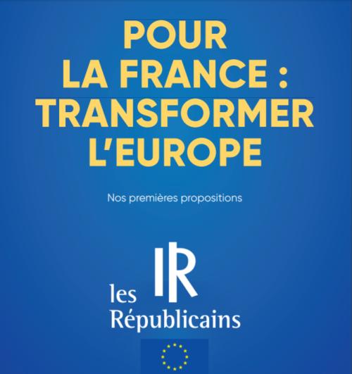 Projet européen LR