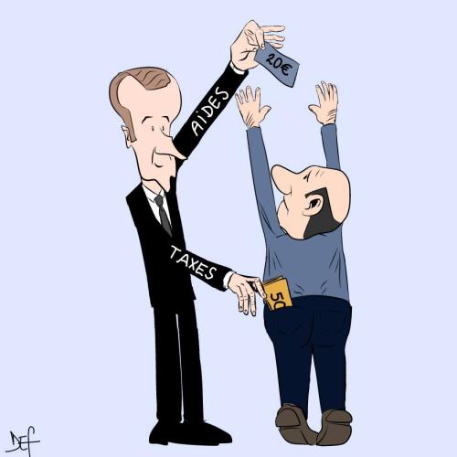 Aide et taxe
