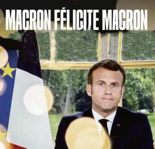 Macron félicite  Macron_InPixio