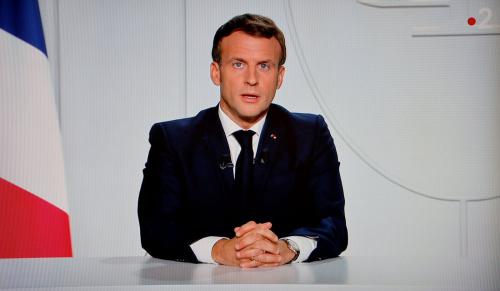 Macron déconfinement 24 nov
