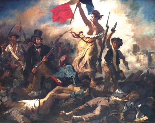 La liberté guidant le  peuple bis