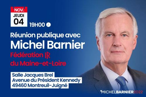 Michel BARNIER- Invitation